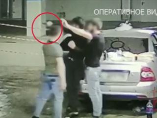 В Москве пьяная компания устроила стрельбу на подземной парковке