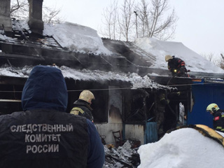 Трое детей и их мама погибли при пожаре в Новосибирске