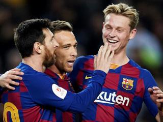 Дубль Месси помог Барселоне разгромить Хетафе