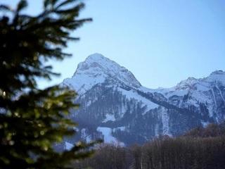 В горах Сочи может сойти лавина