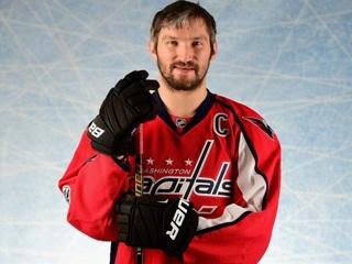 НХЛ назвала Овечкина второй звездой дня