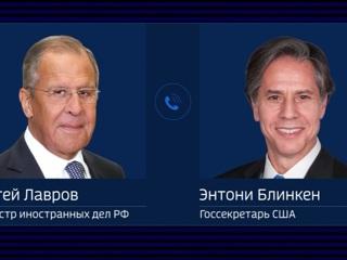 Лавров и Блинкен обсудили свою встречу и саммит глав России и США