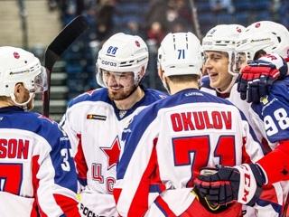 ЦСКА обыграл СКА в финале Западной конференции во второй раз