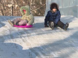 В Хабаровске демонтаж новогодних городков начнется после 23 февраля