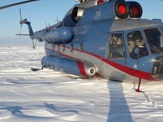 Ми-8 совершил экстренную посадку на Таймыре