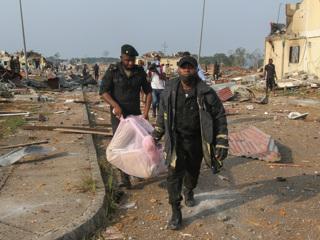 Эксклюзив. Число жертв взрывов в Экваториальной Гвинее возросло втрое