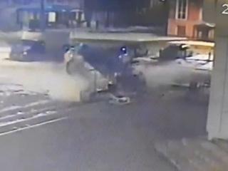 Погоня за пьяным водителем завершилась смертью трех человек