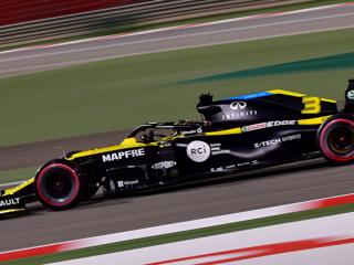 Формула-1. Риккардо выиграл первую серию тестов