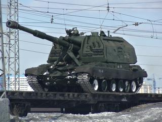 Видео из Сети. В Самару для участия в Параде Победы прибыла военная техника