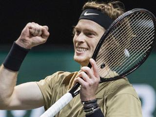 Движение вверх: Рублев уже седьмой в рейтинге ATP