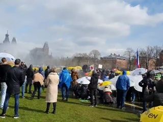 В Швеции тоже разогнали демонстрантов