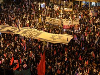 Тысячи израильтян требуют смены Нетаньяху
