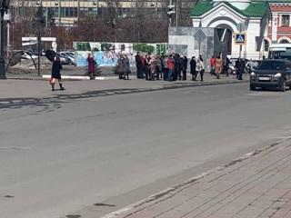 В Саратове эвакуировали здание мэрии из-за сообщения о минировании