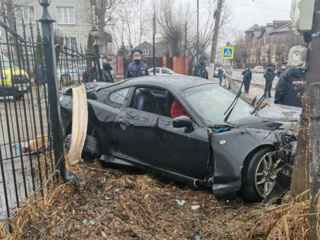 Момент смертельной аварии в Твери попал на видео
