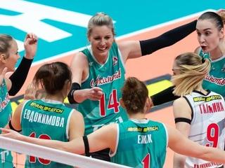 Волейболистки Локомотива впервые стали чемпионками России