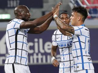 Интер одолел Болонью благодаря голу Лукаку