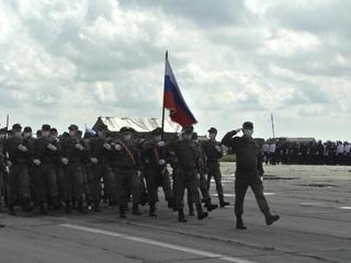 Новости на России 24. В Алабине готовятся к первой совместной репетиции Парада 9 мая