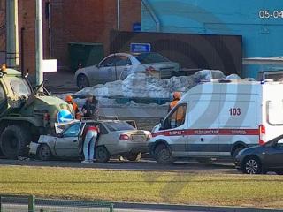 В Дептрансе рассказали подробности об аварии на юге Москвы