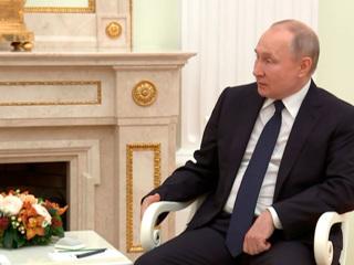 """Новости на """"России 24"""". Путин встретился с премьер-министром Армении Пашиняном"""