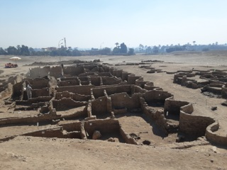 В Египте нашли затерянный город возрастом более 3 тысяч лет