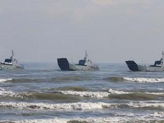 Десантные корабли Каспийской флотилии уйдут в Черное море