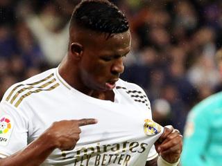 Винисиус Жуниор признан игроком недели в Лиге чемпионов