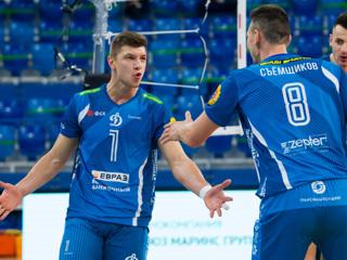 Волейболисты Динамо и Зенита разыграют титул чемпиона России