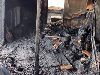 Видео из Сети. Житель Уссурийска пожарил шашлыки и спалил соседский дом