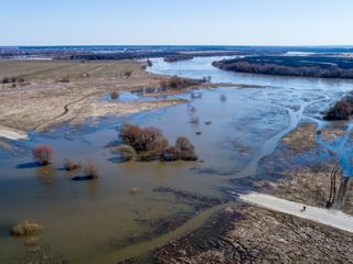 Паводок в России: жители Башкирии рыбачат прямо в городах
