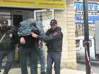 Появилось видео с захватчиком в ТЦ Северной Осетии