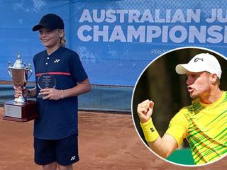 Сын Хьюитта выиграл чемпионат Австралии по теннису