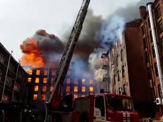 Вести. Дежурная часть. Пожар на Невской мануфактуре: огонь перекинулся на соседние здания
