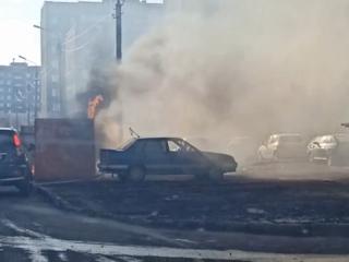 На Южном Урале прохожие спасли чужой автомобиль от угрозы взрыва