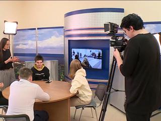 Вести. В Белгороде юные телевизионщики осваивают профессиональное мастерство