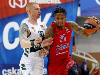 ЦСКА одержал шестую победу кряду в баскетбольной Евролиге