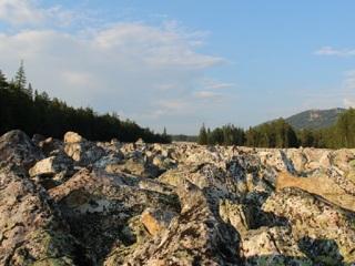 В национальном парке Таганай проснулась древняя каменная река