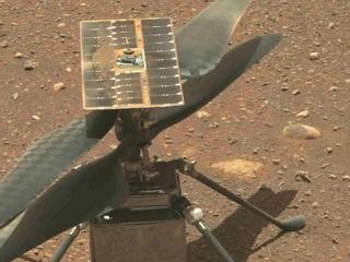 НАСА проведет первые летные испытания марсианского вертолета
