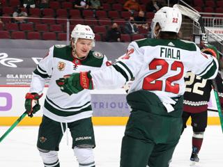 Кирилл Капризов  вторая звезда дня в НХЛ
