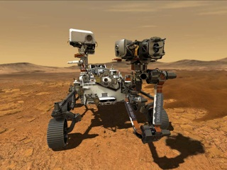 Марсоход Персеверанс впервые выработал кислород на Красной планете