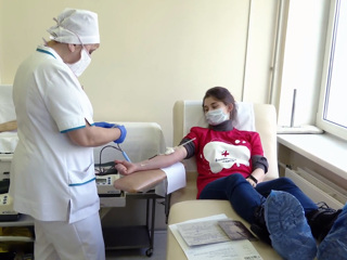 Вести. В Белгороде 30 человек стали донорами крови