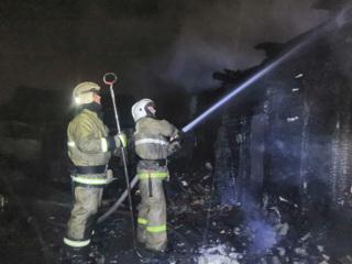 Пожар в Башкирии: погибли двое детей и двое взрослых