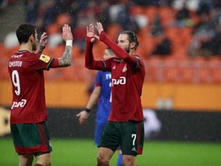Дубль Крыховяка помог Локомотиву разгромить Тамбов