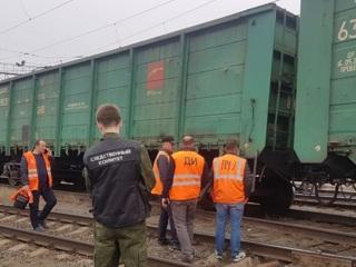 Появилось видео с места ЧП на железной дороге в Челябинске