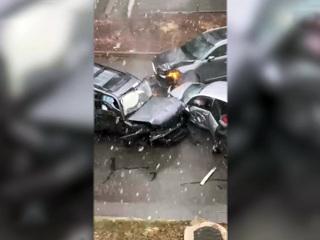 Хабаровский водитель устроил смертельное ДТП, уходя от погони