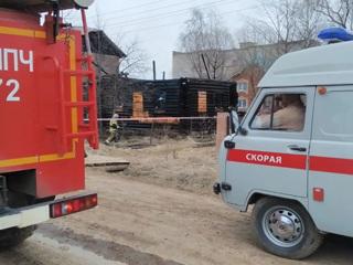 Новости на России 24. Крупный пожар произошел в частном доме в Кудымкарском городском округе