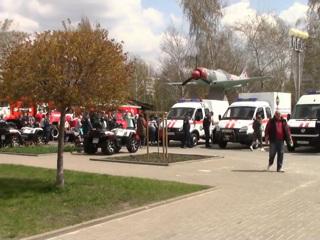 Новости на России 24. Жители Белгорода познакомились со всеми видами пожарных спецмашин