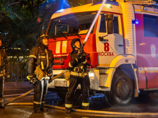 Три человека погибли при пожаре в московской гостинице