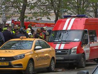 Погибших в результате пожара в московской гостинице нет