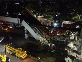 Новости на России 24. В Мехико в результате обрушения поезда погибли 23 человека