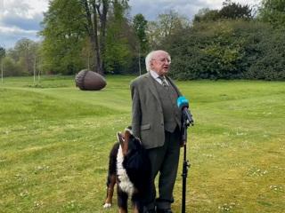 Щенок президента Ирландии растрогал пользователей соцсетей